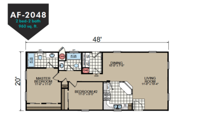 AF-2048 Floor Plan - Redman Homes American Freedom Series