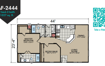 AF-2444 Floor Plan - Redman Homes American Freedom Series