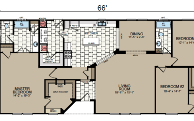 AF-3266 Floor Plan - Redman Homes American Freedom Series