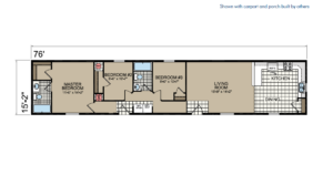 CN330 Floor Plan - Atlantic Homes Central Great Plains Series