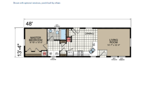 CN448 Floor Plan - Atlantic Homes Central Great Plains Series