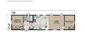 CN456 Floor Plan - Atlantic Homes Central Great Plains Series