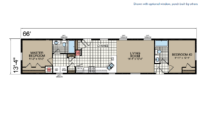 CN466 Floor Plan - Atlantic Homes Central Great Plains Series