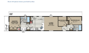 CN467 Floor Plan - Atlantic Homes Central Great Plains Series