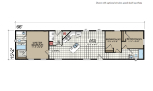 CN663 Floor Plan - Atlantic Homes Central Great Plains Series