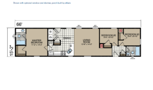 CN667 Floor Plan - Atlantic Homes Central Great Plains Series