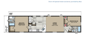 CN668 Floor Plan - Atlantic Homes Central Great Plains Series