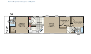 CN669 Floor Plan - Atlantic Homes Central Great Plains Series