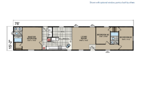 CN676 Floor Plan - Atlantic Homes Central Great Plains Series