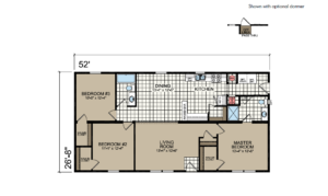 CN852 Floor Plan - Atlantic Homes Central Great Plains Series