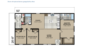 CN854 Floor Plan - Atlantic Homes Central Great Plains Series