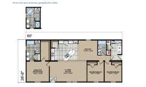 CN860 Floor Plan - Atlantic Homes Central Great Plains Series
