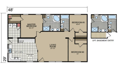 E23 Floor Plan - Atlantic Homes Lifestyle Series