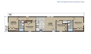 GA48 Floor Plan - Atlantic Homes Central Great Plains Series