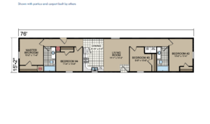 GA49 Floor Plan - Atlantic Homes Central Great Plains Series