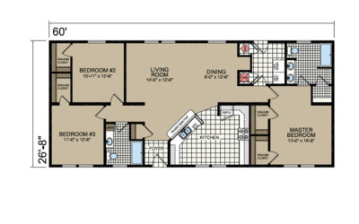 L-483 Floor Plan - Atlantic Homes Lifestyle Series