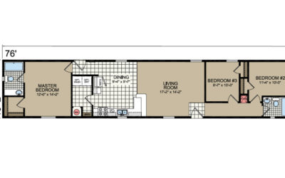 L-487 Floor Plan - Atlantic Homes Lifestyle Series