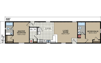 L-492 Floor Plan - Atlantic Homes Lifesytle Series