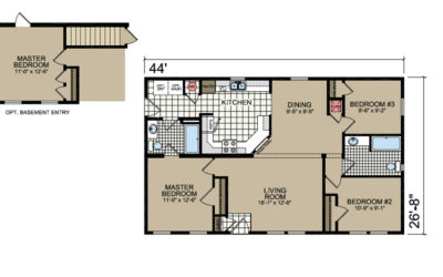 L-D42 Floor Plan - Atlantic Homes Lifestyle Series