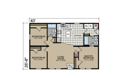 L-E24 Floor Plan - Atlantic Homes Lifestyle Series