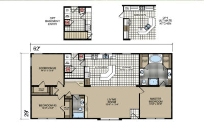 P-130 Barrington Floor Plan - Atlantic Homes Lifestyle Series
