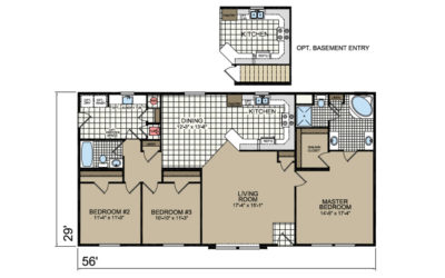 P-656 Peregrine Floor Plan - Atlantic Homes Lifestyle Series