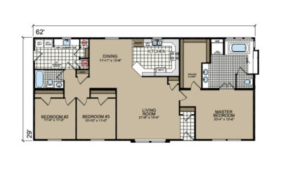 P-656SR Peregrine Floor Plan - Atlantic Homes Lifestyle Series