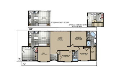 P-675 O'Rourke Floor Plan - Atlantic Homes Lifestyle Series