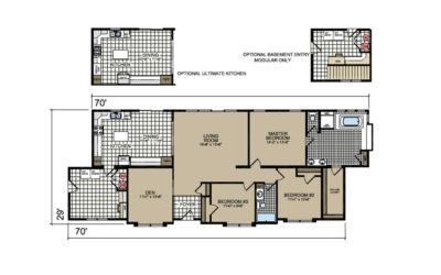 P-675SR O'Rourke Floor Plan - Atlantic Homes Lifestyle Series