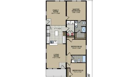 S-10 Atlantic Homes The Granville Floor Plan