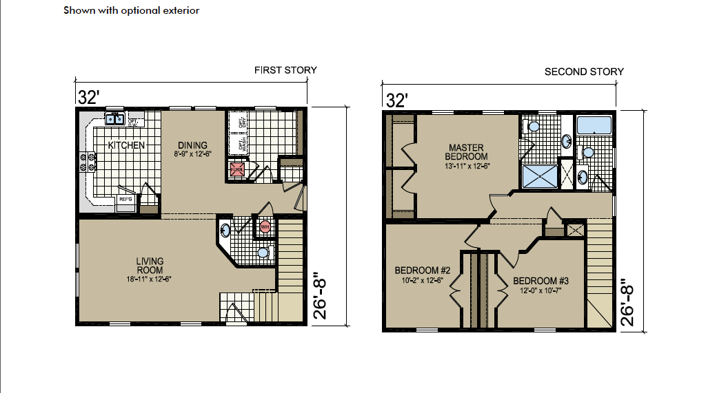 S-15 Atlantic Homes The Ardmore Floor Plan