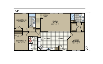 S-20 Atlantic Homes The Brighton Floor Plan