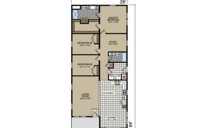 S-25 Atlantic Homes The Penbrook Floor Plan