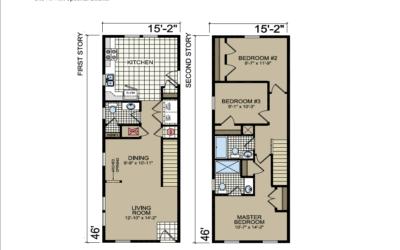 S-30 Atlantic Homes The Piedmont Floor Plan