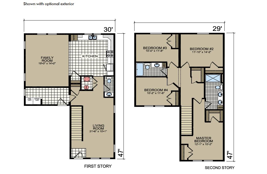 S-35 Atlantic Homes The Augustine Floor Plan