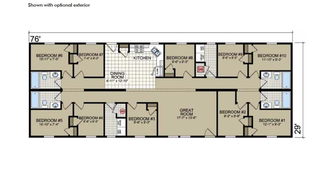 S-47 Atlantic Homes The Montclaire Floor Plan