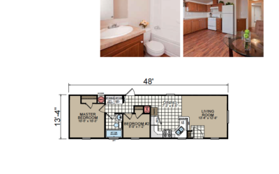 SR-1448 Redman Homes Sunrise Series Floor Plan