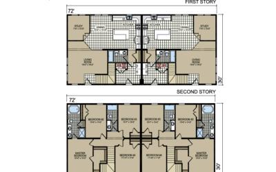 T-40 Atlantic Homes The Hartford Floor Plan