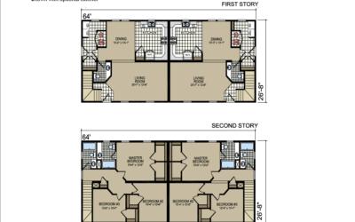 T-45 Atlantic Homes The Stratford Floor Plan