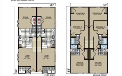 T-50 Atlantic Homes The Bellaire Floor Plan