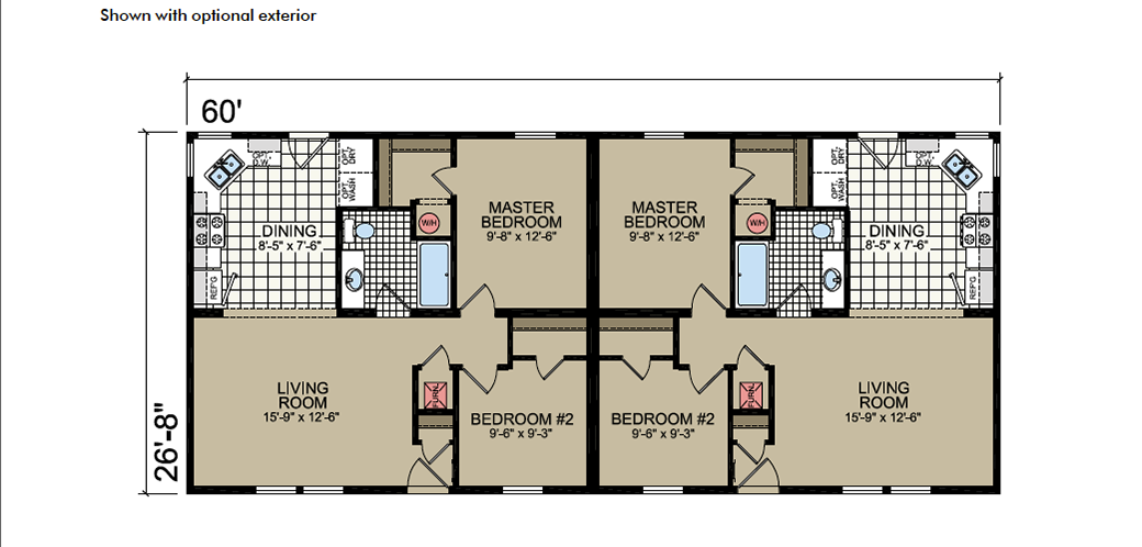 T-82 Atlantic Homes The Keystone Floor Plan