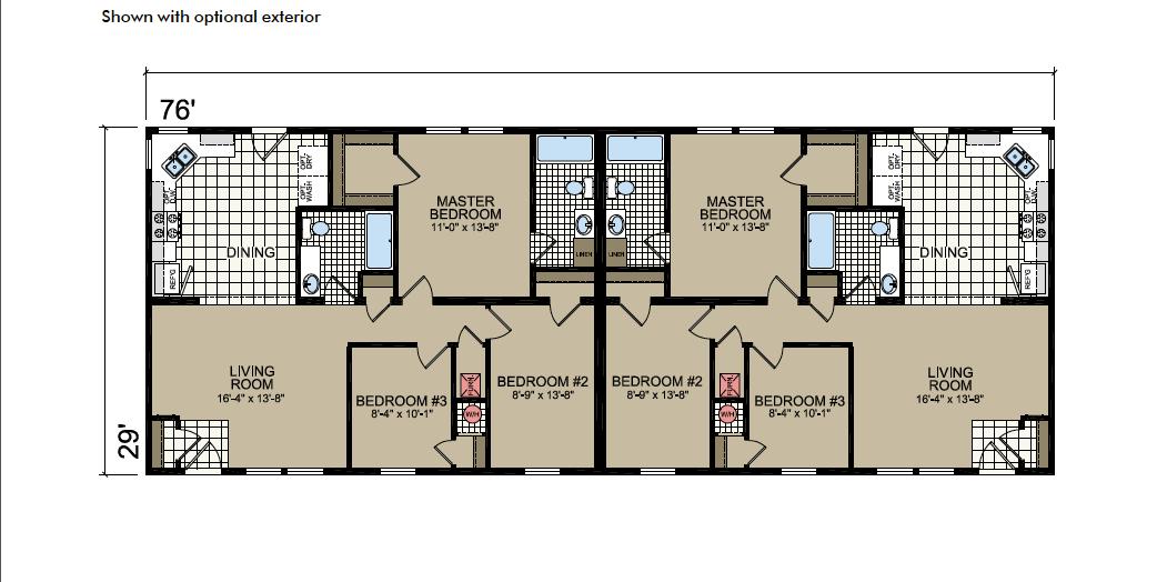 T-84 Atlantic Homes The Covington Floor Plan