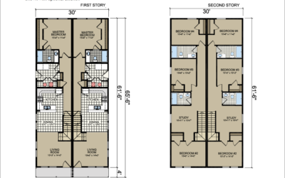 T-961 Atlantic Homes The West Chester Floor Plan