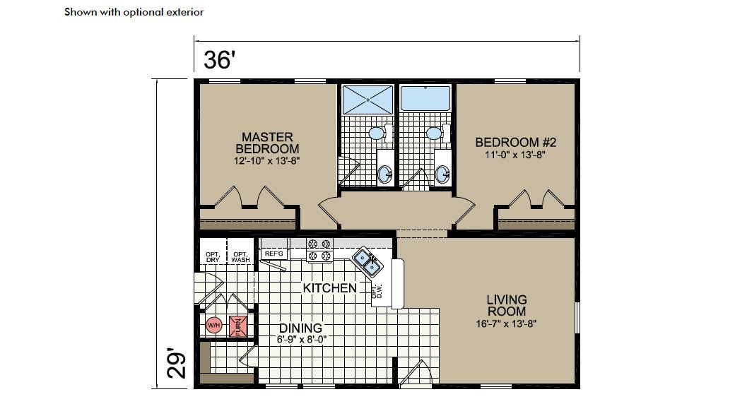 Y37 Floor Plan - Atlantic Homes York Built Series