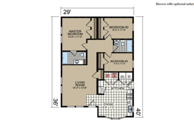 Y41 Floor Plan - Atlantic Homes York Built Series