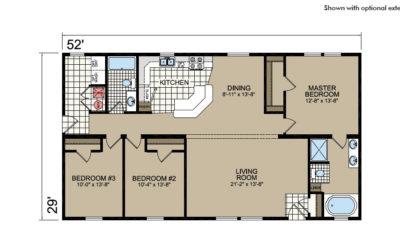 Y52 Floor Plan - Atlantic Homes York Built Series