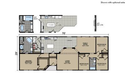 Y80 Floor Plan - Atlantic Homes York Built Series